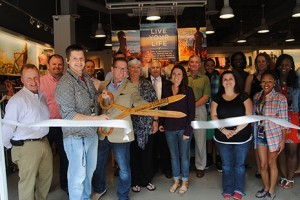 Shops at Grand River - American Eagle Ribbon Cutting