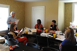 Sandra McGuire, Executive Director, educating Corporate Ambassadors