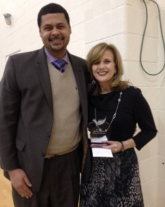Amanda Beeson 2013 Teacher of the Year Award