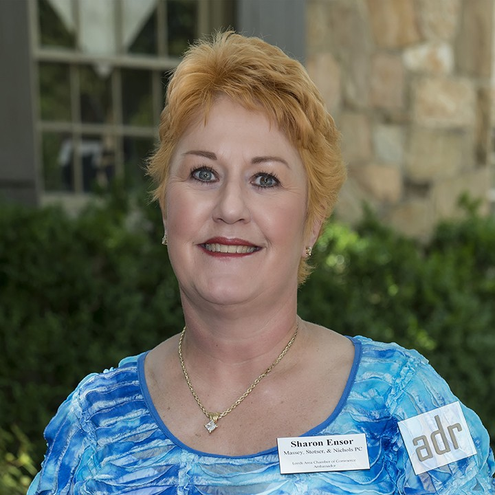 Sharon Ensor - Massey, Stotser & Nichols, P.C.Attorneys at LAW Leeds Area Chamber of Commerce Corporate Ambassador
