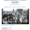 Leeds Arts Council presents Leeds Community Chorus Spring Concert 2017 with the Clay Boys