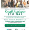 BancorpSouth SBA Event:  BancorpSouth is sponsoring an SBA Event (see attached flyer) on Thursday, Nov. 16th from 11:30 am-1:00 pm, at the Downtown Bessemer
