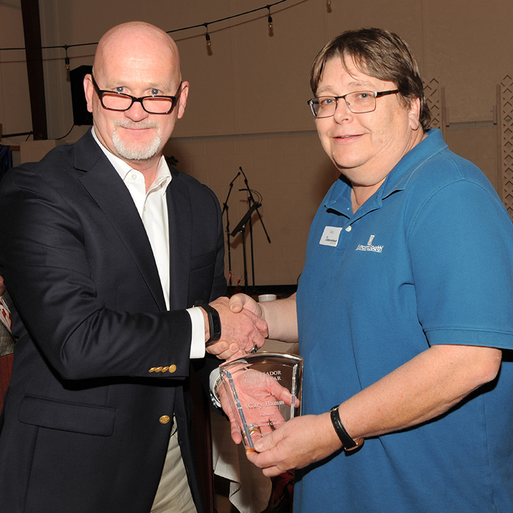 Gary Hamm, Ambassador of the Year 2017 for the Leeds Area Chamber of Commerce Leeds Alabama
