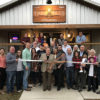 The Leeds Area Chamber of Commerce and the City of Leeds conducted a ribbon cutting at the new Rails & Ales in downtown Leeds on December 1, 2017.