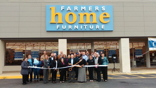 Farmer S Home Furniture Ribbon Cutting Leeds Area Chamber Of Commerce